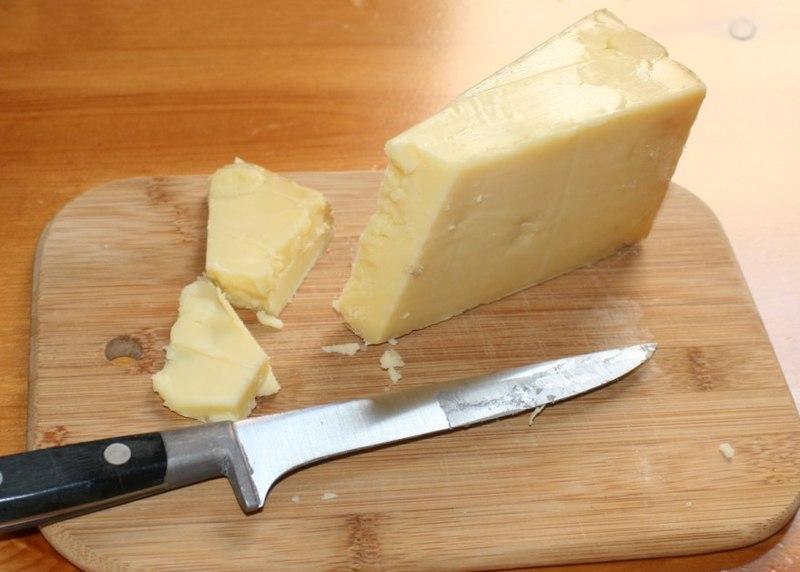 Cutting Cheddar