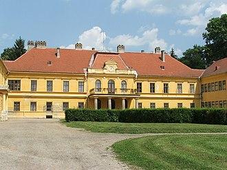 Somogyvár - Image: Somogyvár, Széchenyi kastély 1