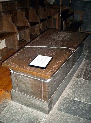 Sune Sik - 16th century grave monument for Sune Sik at Vreta Abbey