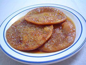 Sopaipilla - Sopaipillas pasadas is the name given to Central Chilean sopaipillas served with chancaca sauce