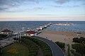Sopot, molo spacerowe - widok z latarni morskiej.jpg