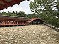 Soribashi Bridge and west corridor of Itsukushima Shrine 2.jpg