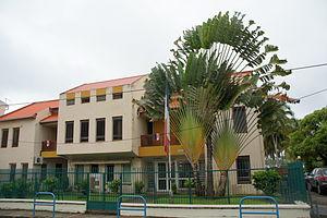 La Trinité, Martinique - The sub-prefecture of La Trinité