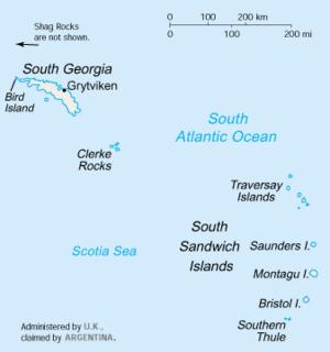 South Georgia And South Sandwich Islands Dispute