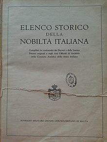 Nobilt italiana wikipedia for Elenco studi di architettura roma
