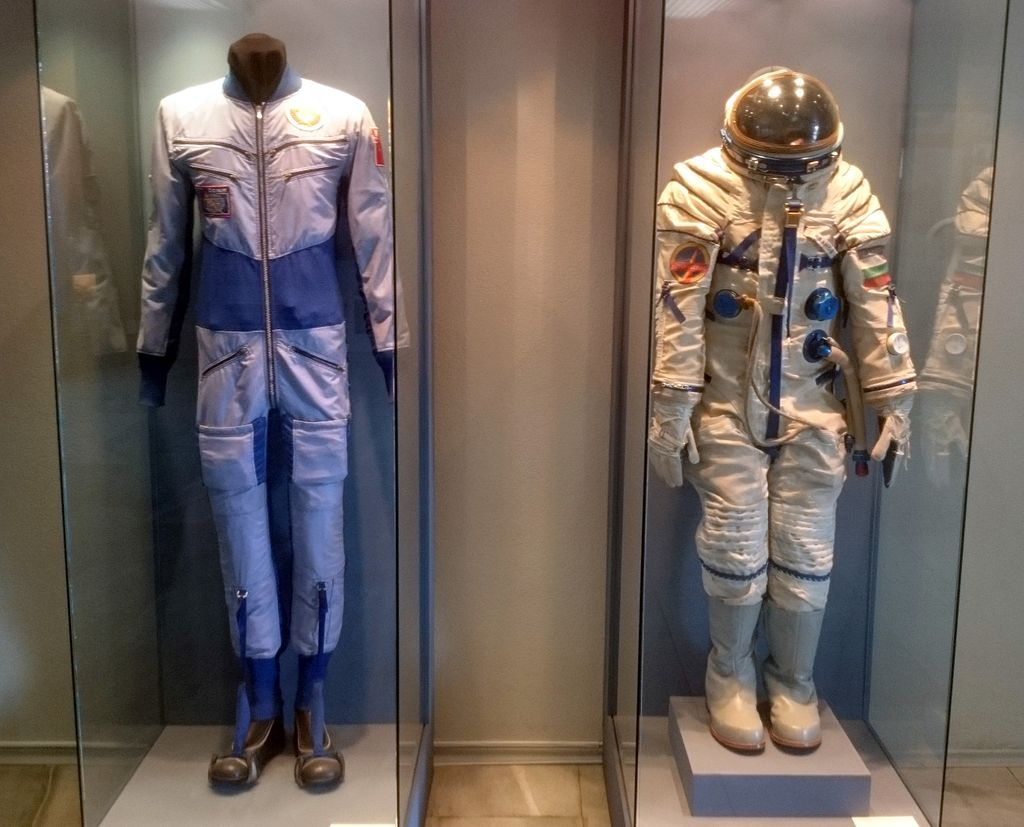 Soyuz 33 space and work suits