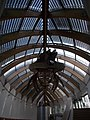 Special roof holds the whale skeleton (HNHM). - Ludovika Sq 2-6., District VIII., Budapest.JPG