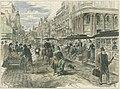 Spencer Street tram, 1889.jpg