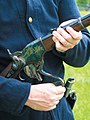 Spencer carbine operation 03 throwing down the lever.jpg