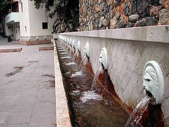 Spili - Venetian fountain in Spili