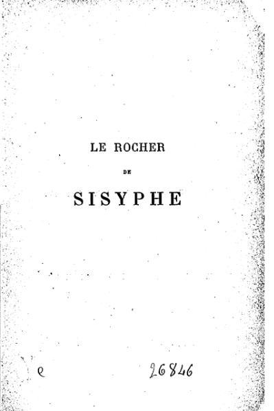 File:Spoelberch de Lovenjoul - Le Rocher de Sisyphe, 1879.djvu