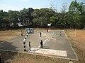 Sree Sankara College Kaladay Basket Ball court.JPG