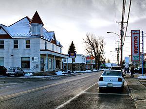Saint-Jean-Baptiste, Quebec - Image: St Jean Baptiste rue principale