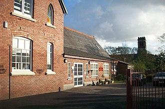 Crossens - Image: St John's School Crossens