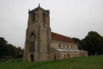 Skirbeck - Image: St.Nicholas church, Skirbeck, Lincs. geograph.org.uk 65237