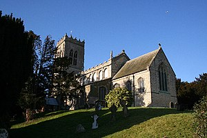 Burgh le Marsh - Image: St.Peter and St.Paul's church, Burgh le Marsh, Lincs. geograph.org.uk 119078