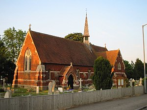 Eton Wick - Image: St. John the Baptist Church, Eton Wick geograph.org.uk 16273