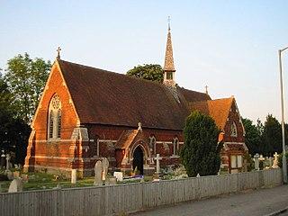 Eton Wick village in the United Kingdom
