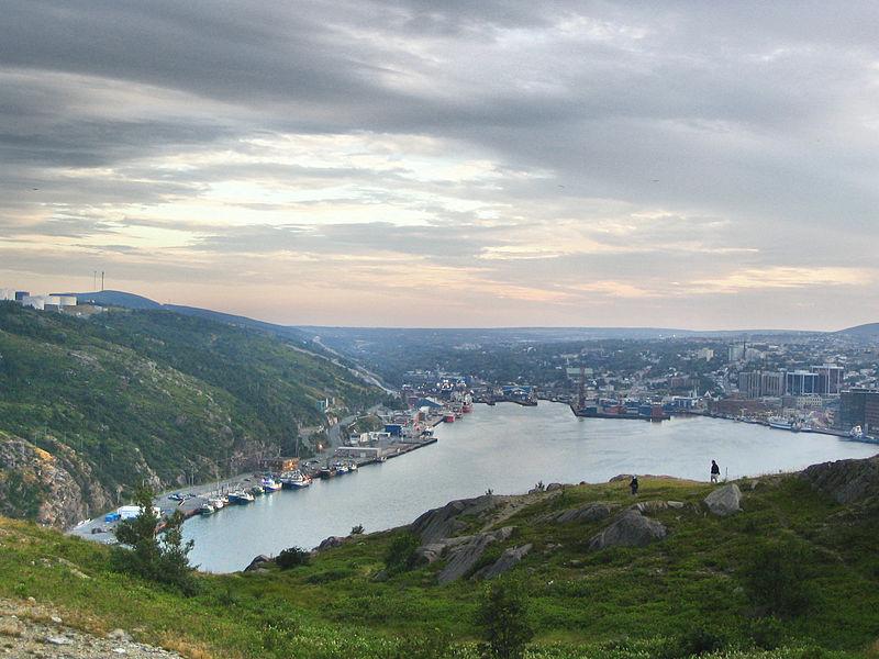 File:StJohns Newfoundland ViewfromSignalHill.jpg