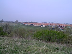 Sankt Hans Hill - Image: St Hans backar, utsikt över Norra Fäladen