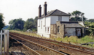 St James Deeping railway station Former railway station in Lincolnshire, England
