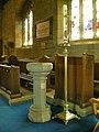 St John the Baptist, Bretherton, Font - geograph.org.uk - 1374278.jpg