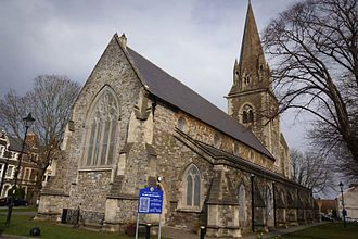 Listed buildings in Cardiff - St John the Evangelist