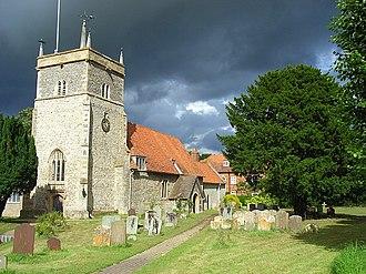 Bucklebury - Image: St Mary's, Bucklebury geograph.org.uk 504227