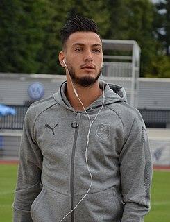 Ramy Bensebaini Algerian footballer