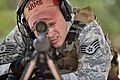 Staff Sgt. Joseph Pico trains at the firing range on Francis S. Gabreski Air National Guard Base, N.Y., July 17, 2015. Pico is a combat arms training and maintenance instructor with the 106th Rescue Wing.jpg