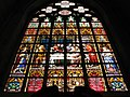 Stained glass Brussels St. Michael and Gudula Cathedral.jpg
