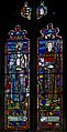 Stained glass window, St George's church, Brede (16228570642).jpg