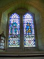 Stained glass window, St Peter's on the Green - geograph.org.uk - 1332252.jpg