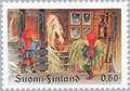 Stamp of Finland - 1979 - Colnect 46903 - Christmas Dwarfs feed a-Horse.jpeg