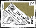 Stamp of India - 1988 - Colnect 165270 - The Times of India.jpeg