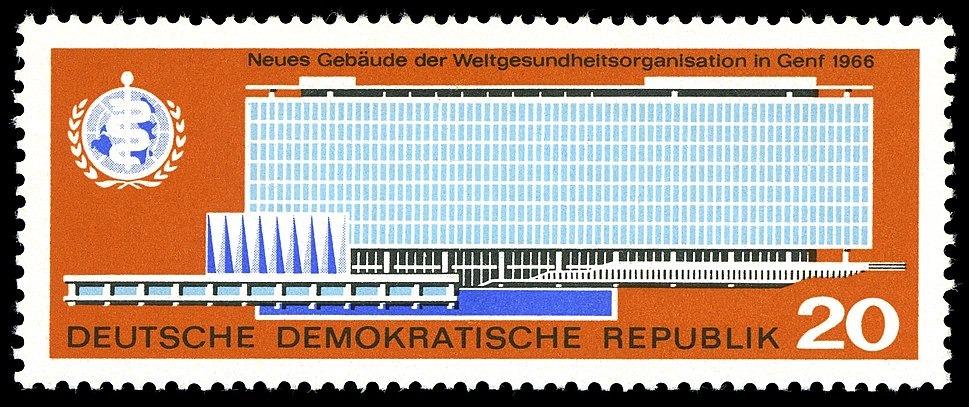 On a 1966 stamp of the German Democratic Republic