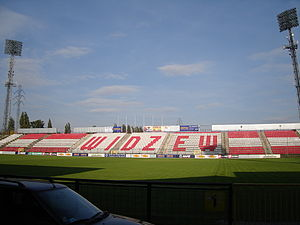 Stary stadion Widzewa - trybuna C.jpg