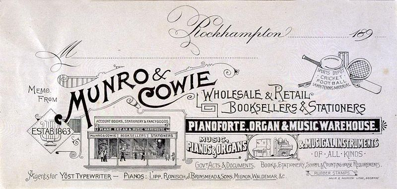 File:StateLibQld 2 192251 Munro and Cowie Pianoforte, Organ and Music Warehouse letterhead.jpg
