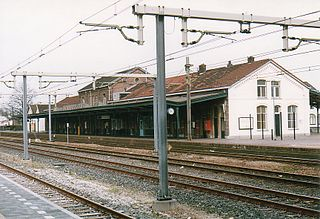 railway station in the Netherlands