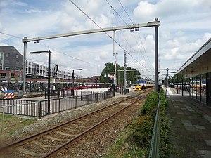 Wijchen railway station - Image: Station wijchen 2017