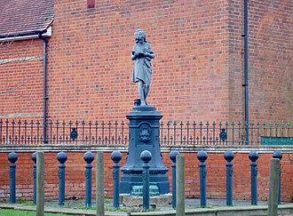 Pirbright - Image: Statue in pirbright village