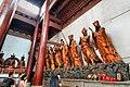 Statue of the Twenty-Four Devas (二十四諸天 Èrshísì Zhūtiān) in Lingyin Temple (靈隱寺 Língyǐnsì); Hangzhou, China Part 1.jpg