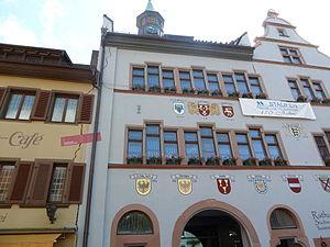 Staufen im Breisgau - Image: Staufen.Cracks