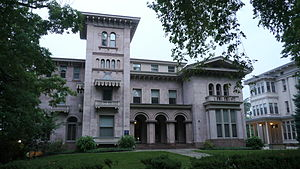 Yale School of Management - Steinbach Hall, a mansion formerly used by the school on Hillhouse Avenue