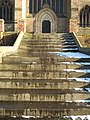 Steps to Worcester Cathedral - geograph.org.uk - 1147087.jpg