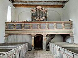 Sternhagen (Nordwestuckermark), Dorfkirche, Orgel (18).jpg