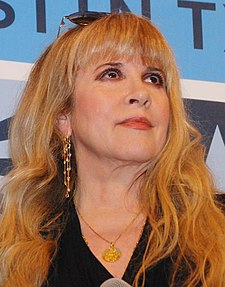 Stevie Nicks - In Your Dreams Premiere March 2013 (cropped).jpg