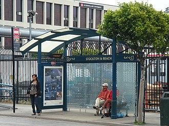Beach and Stockton station - Beach and Stockton station, 2008