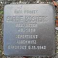 Stolperstein Bad Bentheim Bernhard-Hagels-Platz 13 Sofie Kösters.JPG