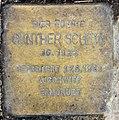 Stolperstein Duisburger Str 1 (Wilmd) Günther Schein.jpg